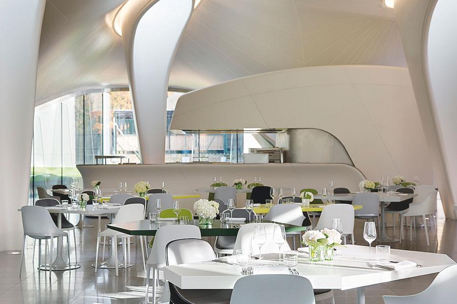 Agencement des restaurants for Arredamento roma est